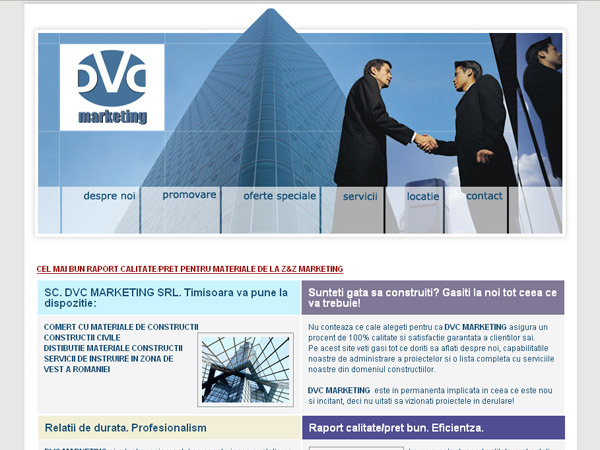 DVC Marketing Timisoara - consultanta in constructii